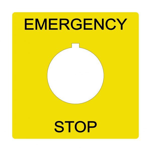 Emergency stop50mm
