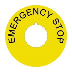 EMERGENCY STOP fi60mm
