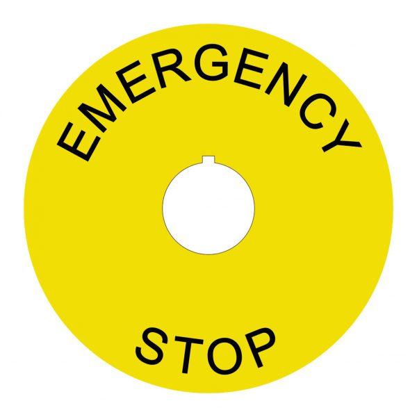 Emergency stop90mm2